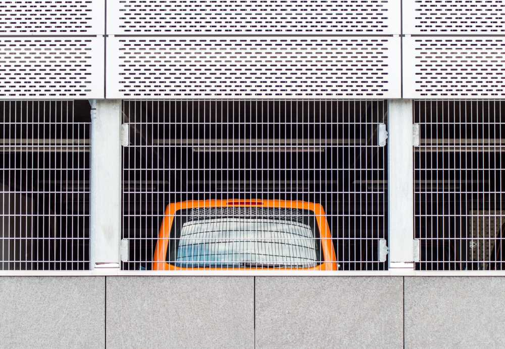 Minimalist urban photography by Irene Eberwein