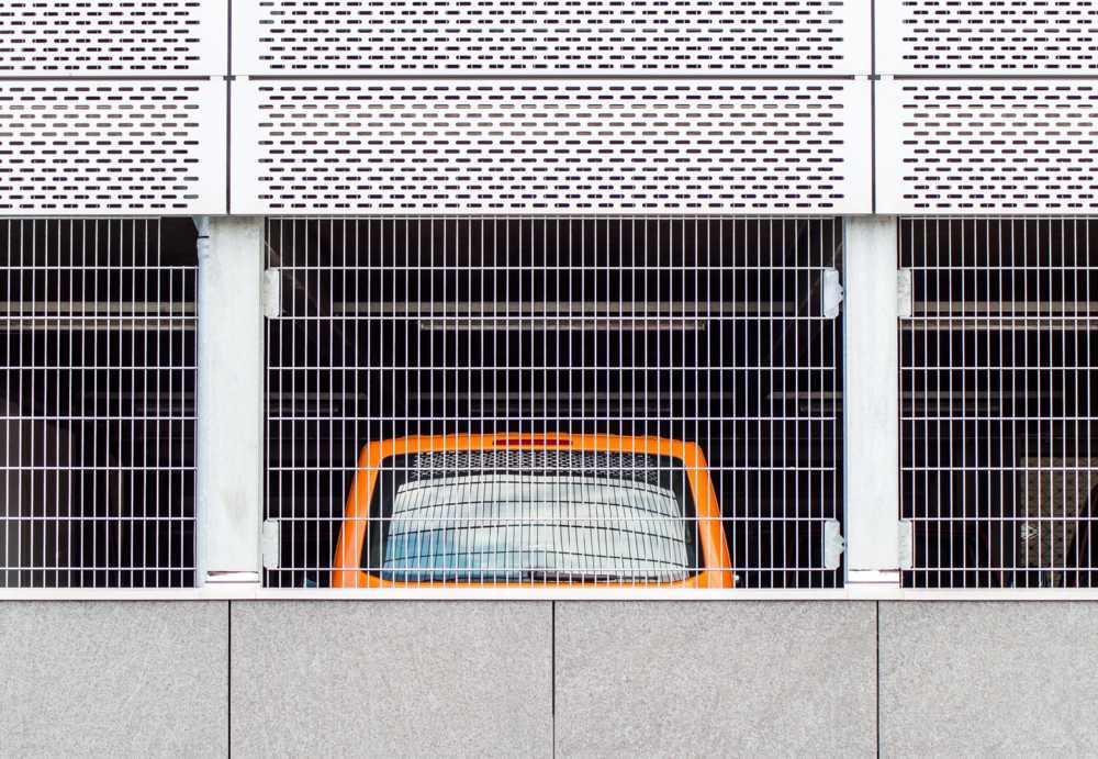 Minimalist urban photography by Irene Eberwein