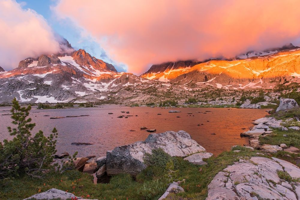 Sunrise john muir trail - sashikanth r chintla