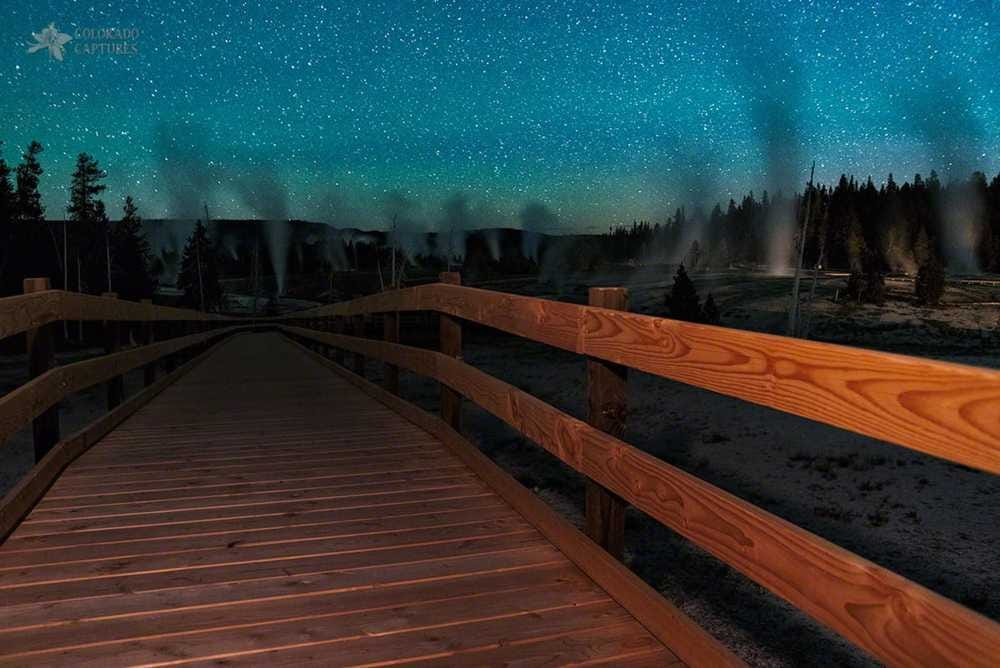 Geyser Basin Boardwalk