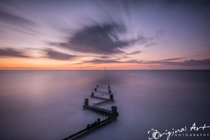 Hunstanton Sunset 5 Minute Exposure